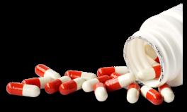 medicines in bottle