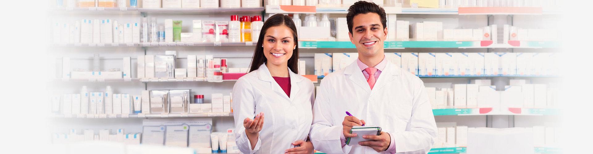 pharmacist and pharmacy technician